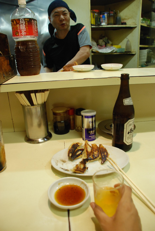 4-大吉-ギョーザとビール