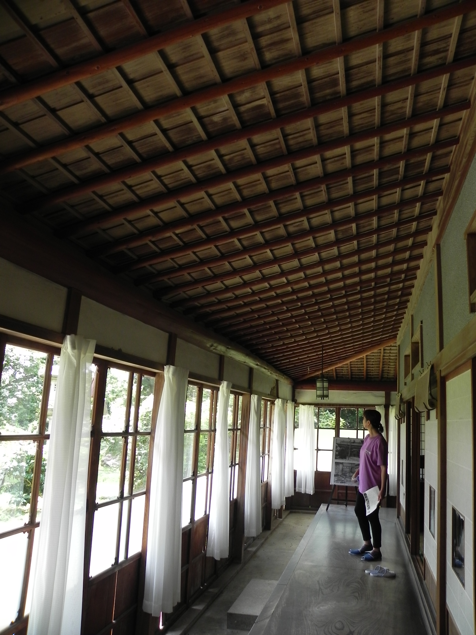 離れ座敷は最高の材料を集めて建てられた。