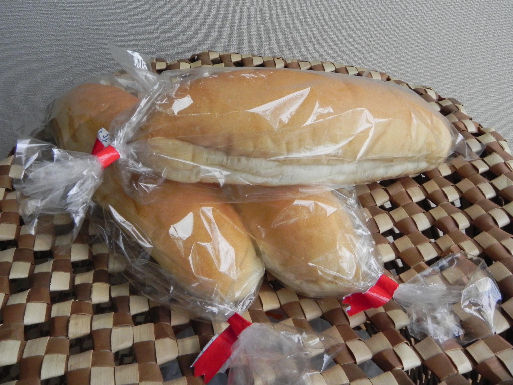 1コッペパン包装