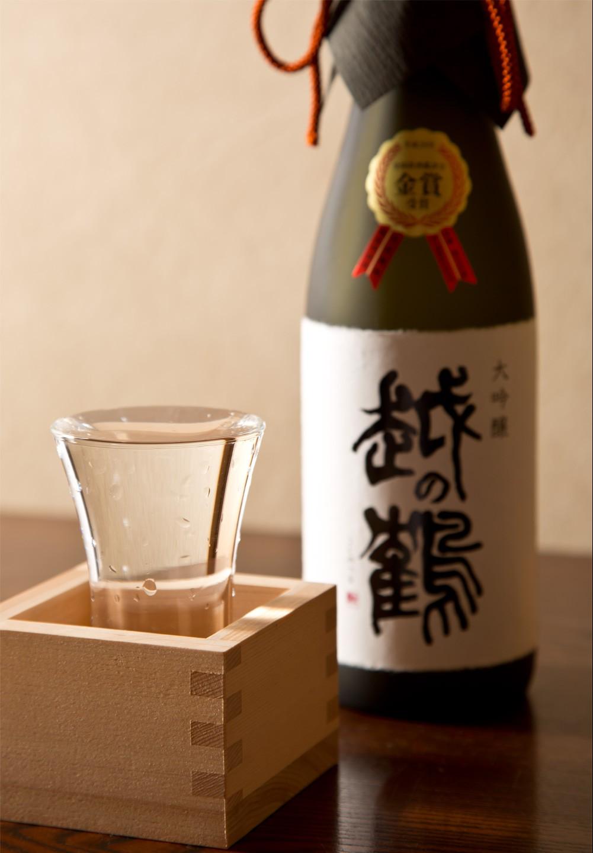 越の鶴 大吟醸