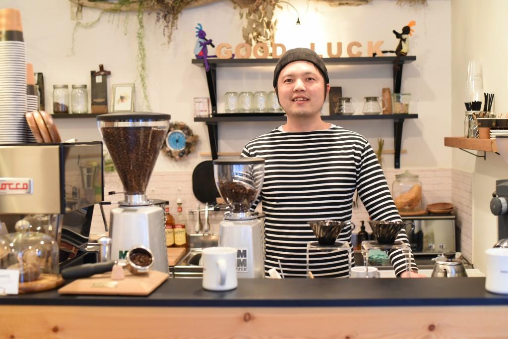 コーヒーを通じて若者に夢を! GOOD LUCK COFFEEが目指す理想のカフェの姿 | な!ナガオカ