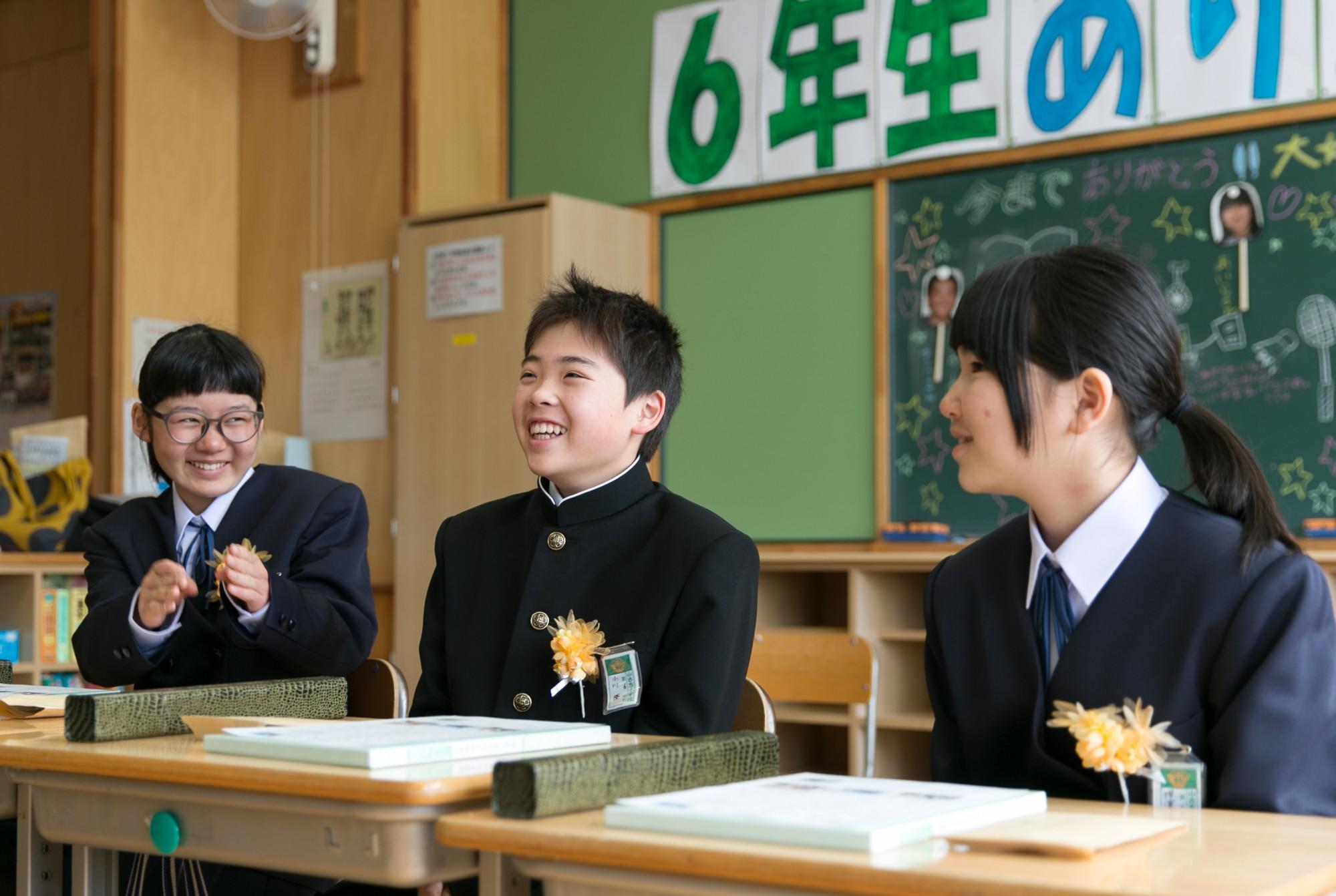 04教室の3人