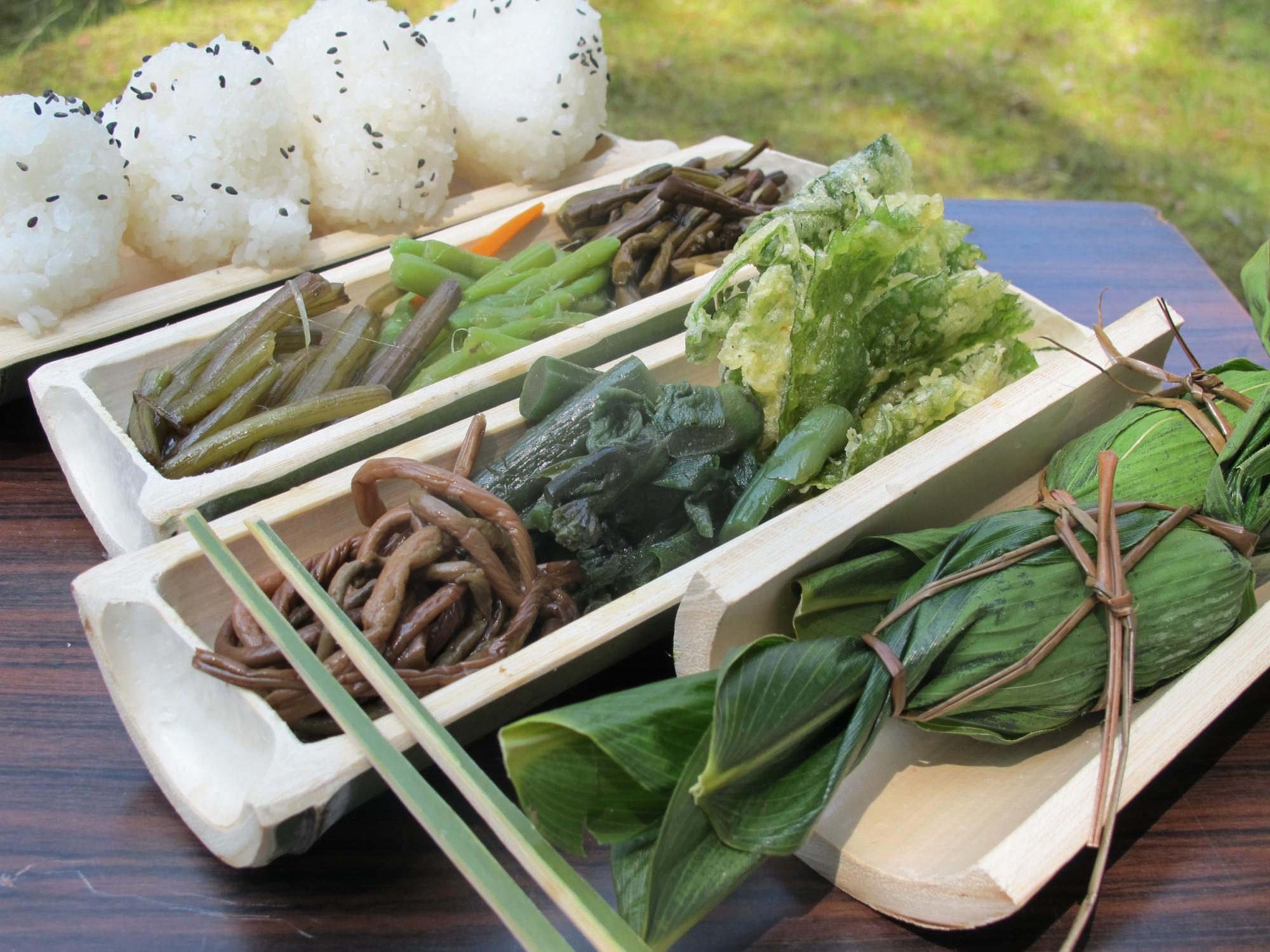 山菜料理Ⅱ