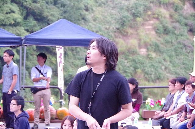 2017年9月23日・上映イベントの会場、木籠集落郷見庵