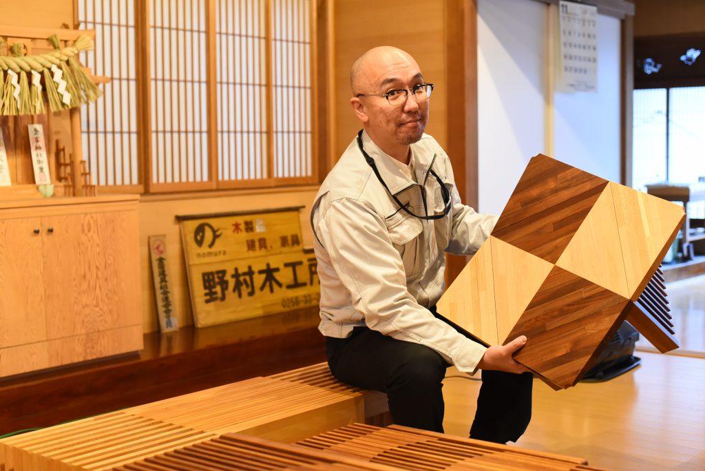 伝統の建具技術をデザインとアイディアで蘇らせる三代目! 野村木工所「IKSKI」の挑戦 | な!ナガオカ